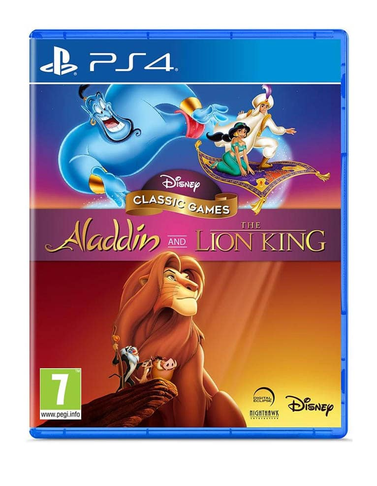 Gra PS4 Disney Classic Games: Aladdin and The Lion King