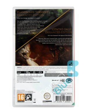 Gra Nintendo Switch Planescape: Torment and Icewind Dale: Enhanced Editions PL