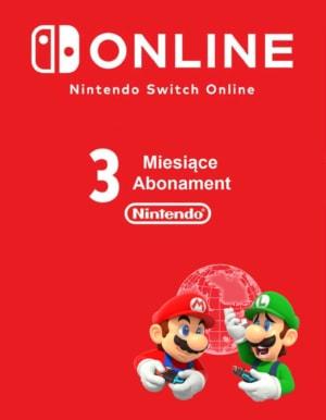 Kod na Abonament Nintendo Switch Online 3 miesiące (32zł) / Email / Automat 24h