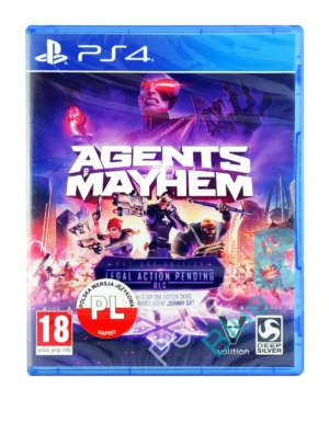 Gra PS4 Agents of Mayhem Day One Edition