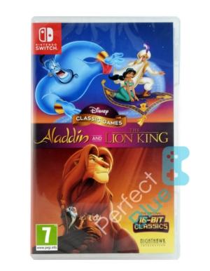 Gra Nintendo Switch Disney Classic Games: Aladdin and The Lion King