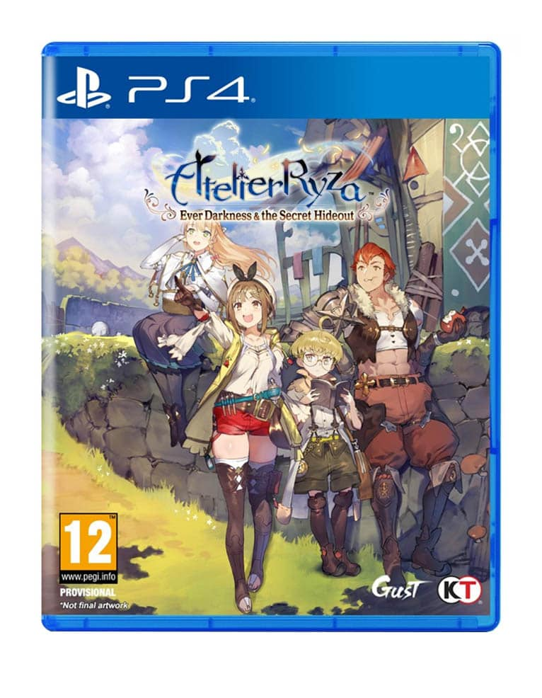 Gra PS4 Atelier Ryza: Ever Darkness and the Secret Hideout