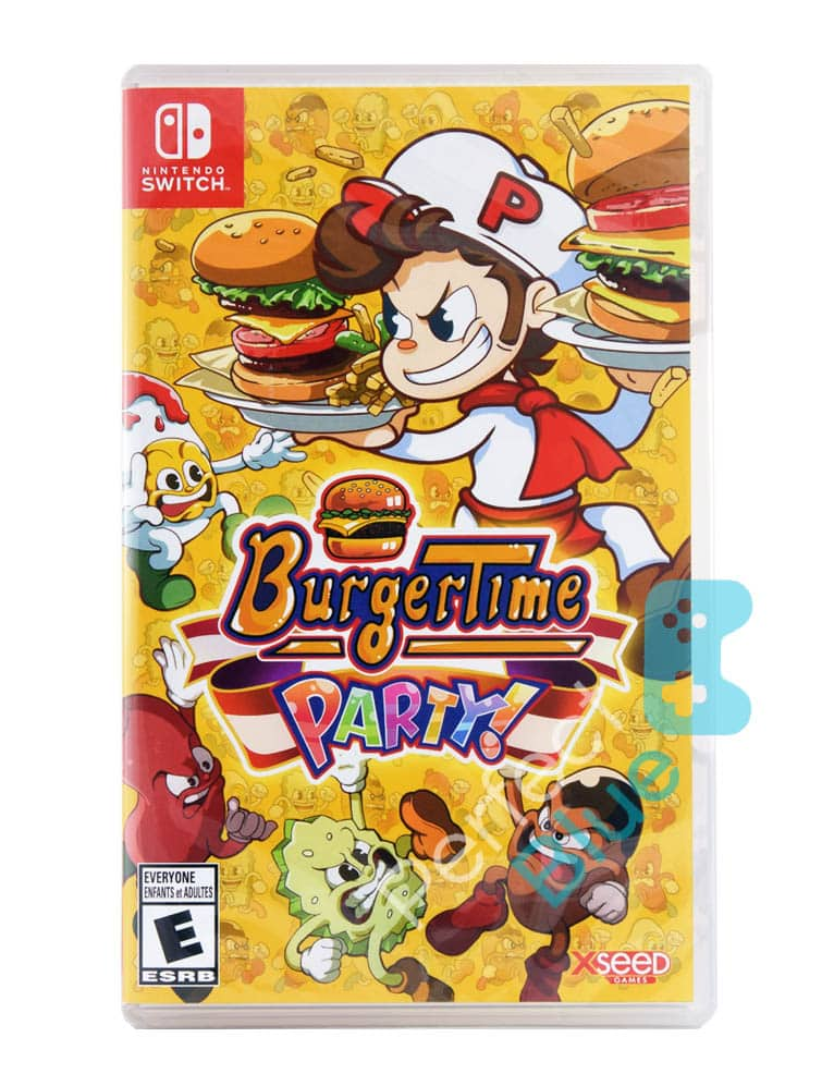 Gra Nintendo Switch Burger Time: Party!