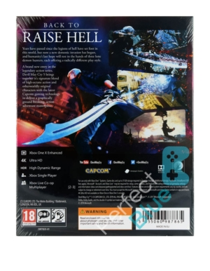 Gra Xbox One Devil May Cry 5 Deluxe Edition / Steelbook