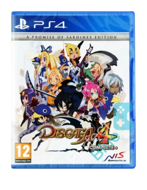 Gra PS4 Disgaea 4 Complete+ A Promise Of Sardines Edition