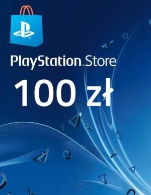Kod / Klucz / Doładowanie PlayStation Store 100zł / wysyłka na email / Automat 24h
