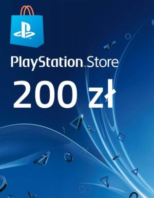 Kod / Klucz / Doładowanie PlayStation Store 200zł / wysyłka na email / Automat 24h