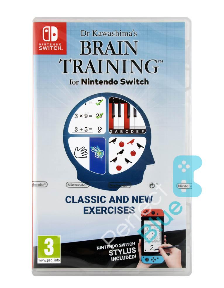 Gra Nintendo Switch Dr Kawashima's Brain Training + Stylus!