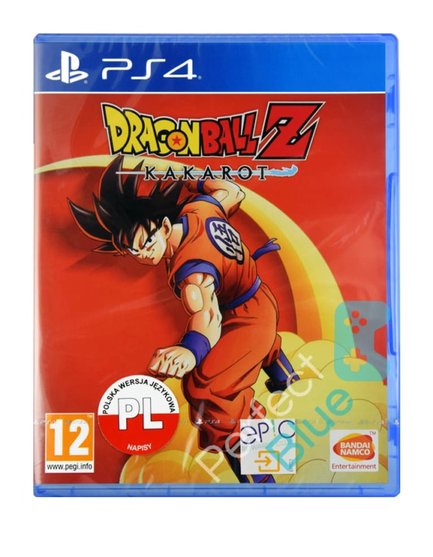Gra Ps4 Dragon Ball Z Kakarot Perfect Blue Gry Konsole