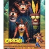 Figurka Crash Bandicoot Deluxe Figure z Maską Aku Aku / 17 cm / Neca