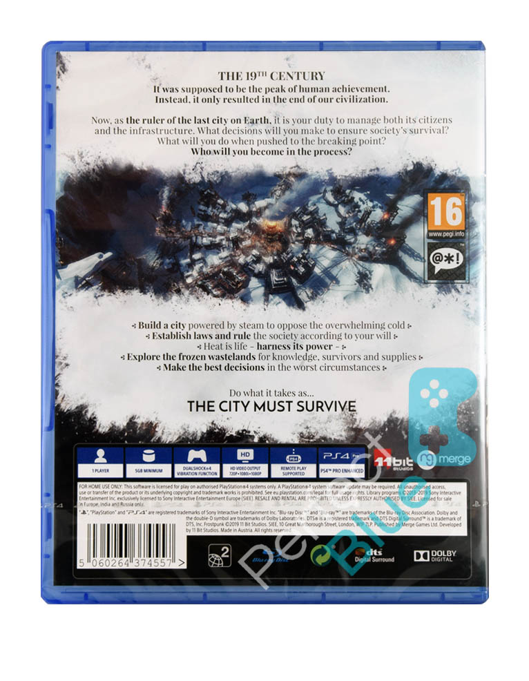 Gra PS4 Frostpunk PL