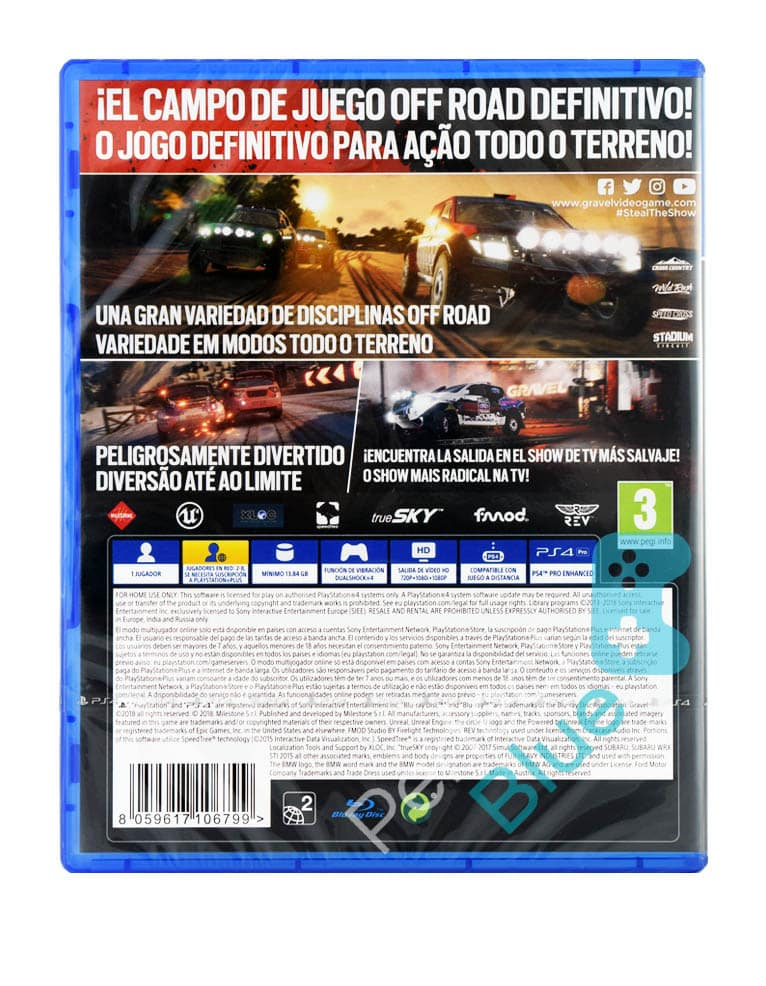 Gra PS4 Gravel