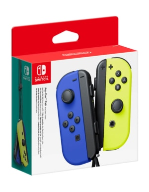 Kontrolery Nintendo Switch Joy-Con Neon Blue-Yellow Niebieski i Żółty