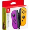 Kontrolery Nintendo Switch Joy-Con Neon Purple-Orange Fioletowy i Pomarańczowy
