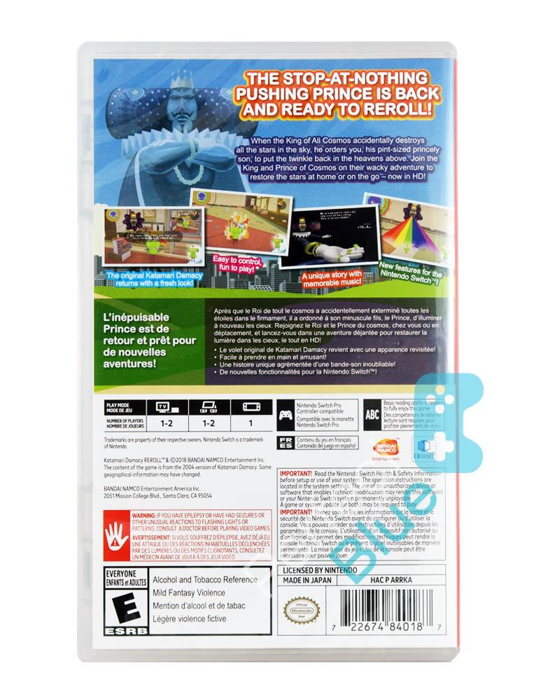 Gra Nintendo Switch Katamari Damacy Reroll