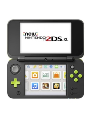 Konsola New Nintendo 2DS XL Black/Lime + Mario Kart 7
