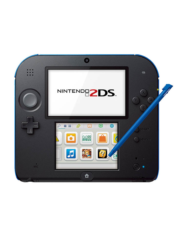 Konsola Nintendo 2DS Black/Blue + Mario Kart 7