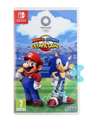 Gra Nintendo Switch Mario & Sonic at the Olympic Games Tokyo 2020 + Plakat + Naklejki!