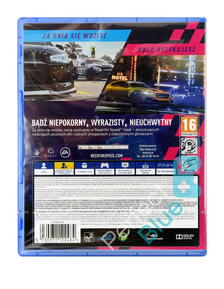 Gra PS4 Need for Speed Heat PL