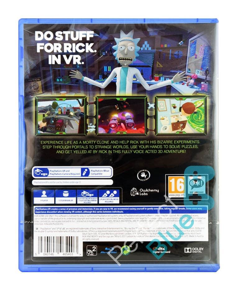 Gra PS4 VR Rick and Morty Virtual Rick-Ality