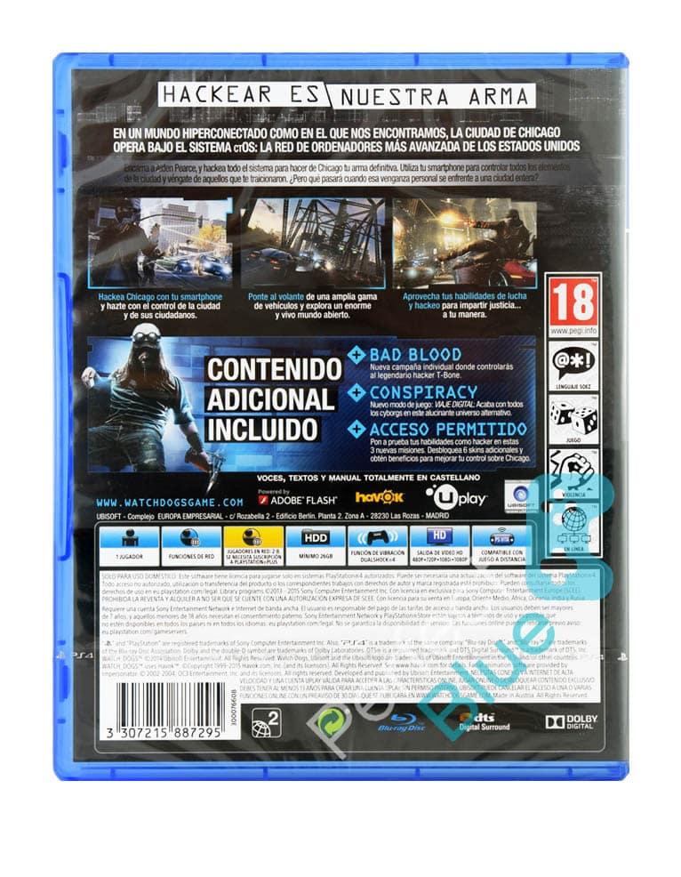 Gra PS4 Watch Dogs Edycja Kompletna