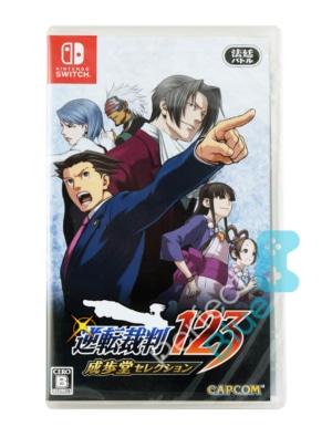 Gra Nintendo Switch Phoenix Wright: Ace Attorney Trilogy