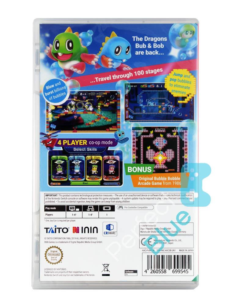 Gra Nintendo Switch Bubble Bobble 4 Friends