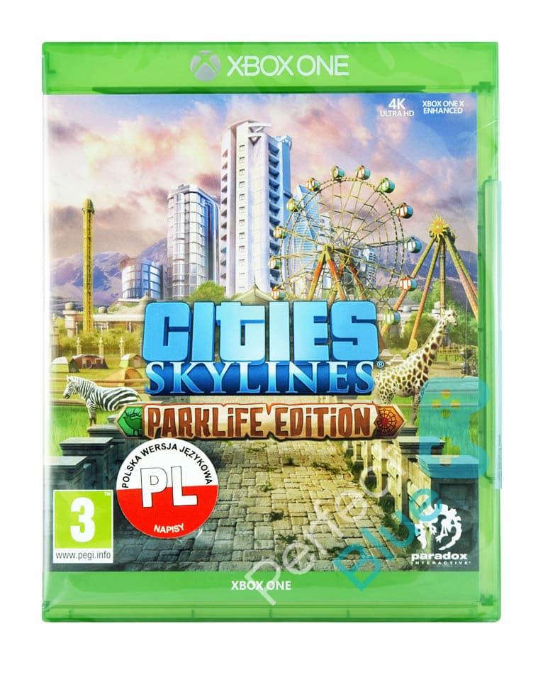 Gra Xbox One Cities Skylines Parklife Edition PL