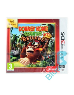 Gra Nintendo 3DS / 2DS Donkey Kong Country Returns 3D