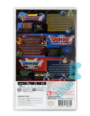 Gra Nintendo Switch Dragon Quest Trylogia