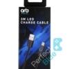 ORB / Kabel LED Micro USB Ładujący Kontrolery PS4