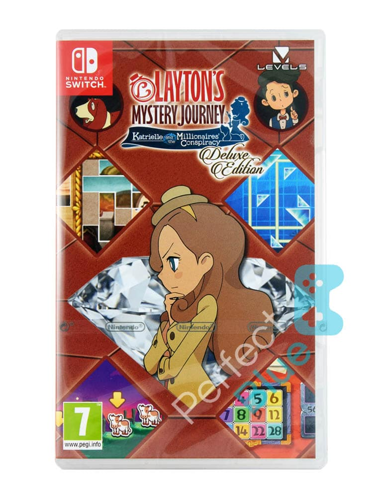Gra Nintendo Switch Layton's Mystery Journey: Katrielle and the Millionaires' the Conspiracy Deluxe Edition