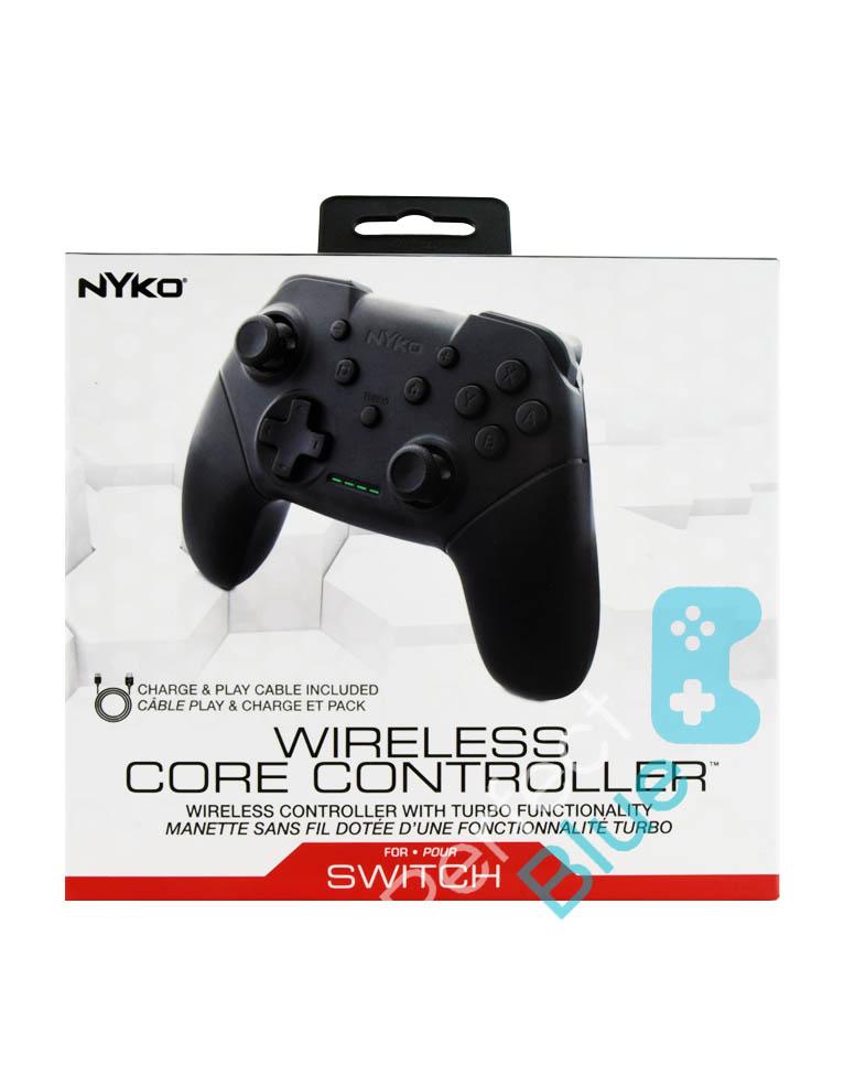 Nyko Bezprzewodowy Kontroler / Pro Controller / Nintendo Switch, PC / Czarny