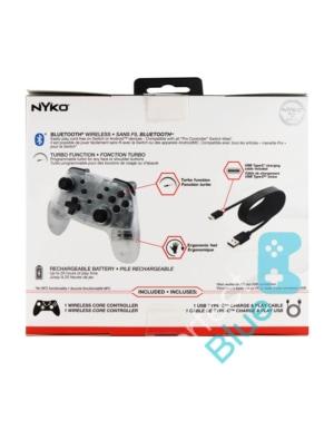 Nyko Bezprzewodowy Kontroler / Pro Controller / Nintendo Switch, PC / Przezroczysty
