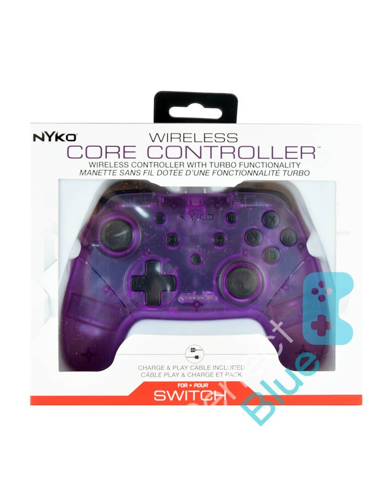 Nyko Bezprzewodowy Kontroler / Pro Controller / Nintendo Switch, PC / Fioletowy
