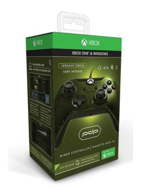 PDP Pad Kontroler Przewodowy - Xbox One / PC - Zielony