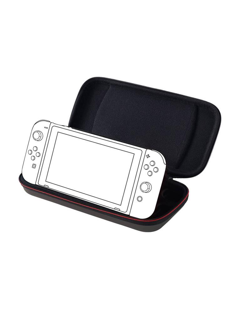 BIG BEN Etui Pokrowiec - Nintendo Switch - Deluxe Travel Case / Szary