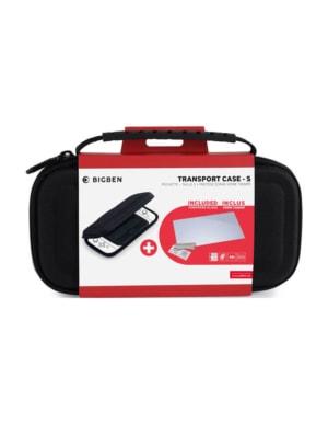 BIG BEN Etui / Pokrowiec / Case - S + Szkło Ochronne na Ekran - Nintendo Switch Lite