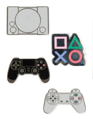 Gadżet Playstation / Losowa Metalowa Przypinka