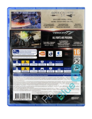 Gra PS4 Tekken 7 + Soul Calibur 6 / Dwie Gry!