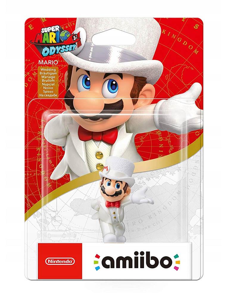 Figurka Amiibo - Super Mario Odyssey - Mario Wedding