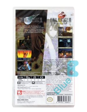 Gra Nintendo Switch Final Fantasy VII & VIII Remastered Twin Pack