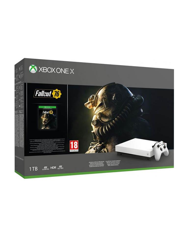 Konsola Microsoft Xbox One X 1TB + Fallout 76
