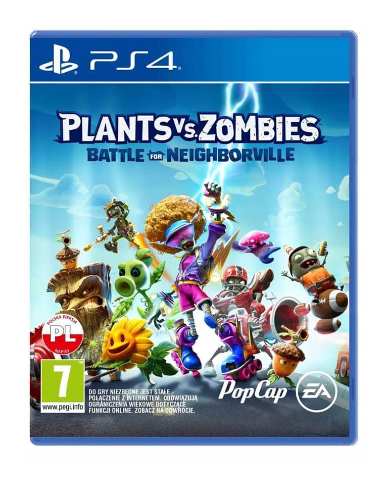 Gra PS4 Plants vs Zombies Battle For Neighborville PL