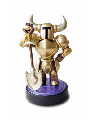 Figurka Amiibo - Shovel Knight Gold Edition