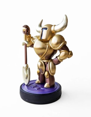 Figurka Amiibo - Shovel Knight Gold Edition
