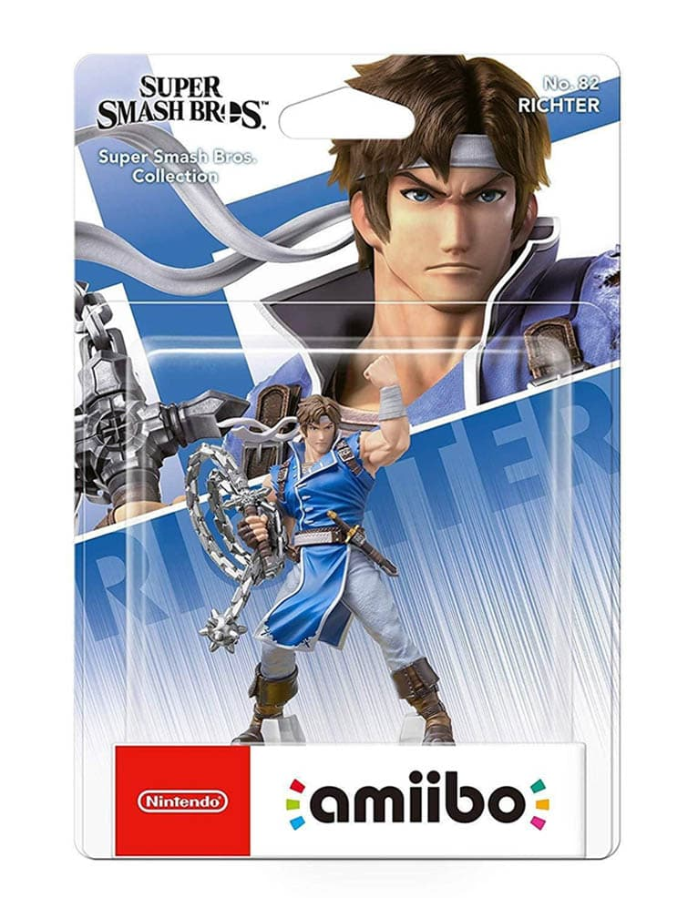 Figurka Amiibo - Super Smash Bros. Collection - Richter No. 82