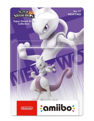 Figurka Amiibo - Super Smash Bros. Collection - Mewtwo No. 51