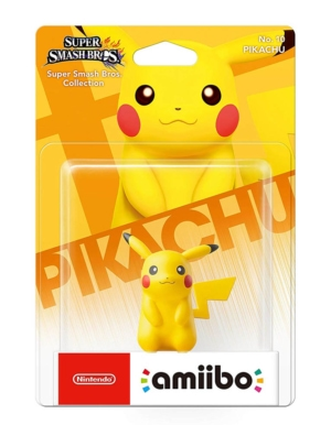 Figurka Amiibo - Super Smash Bros. Collection - Pikachu No. 10
