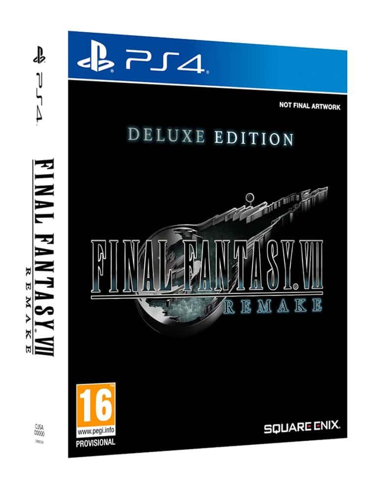 Gra PS4 Final Fantasy VII Remake Deluxe Edition